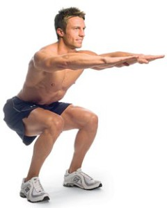 Squat with proper form